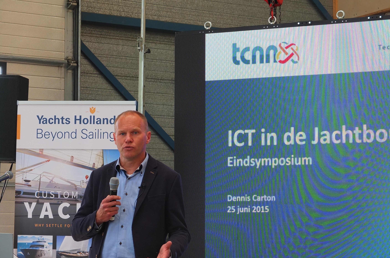 Dennis Carton, TCNN projectleider ICT in de jachtbouwketen