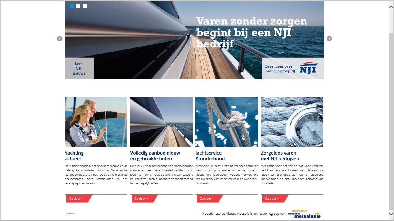 Homepage jachtbouw.nl